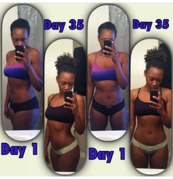 5 week transformation