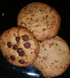 floursless chocolate chip cookies